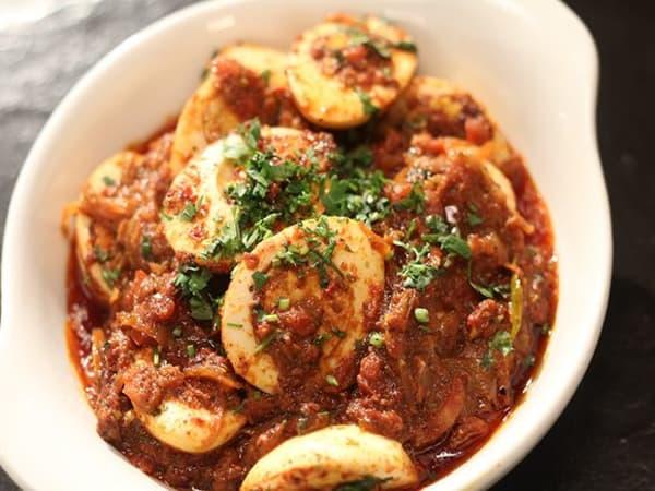 Egg Vindaloo - Welcome Indian Restaurant