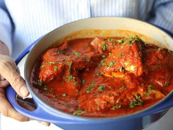 Fish Vindaloo - Welcome Indian Restaurant