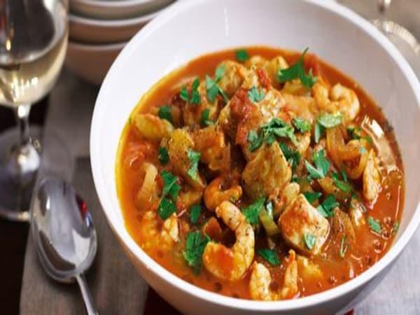 Prawn Madras - Welcome Indian Restaurant