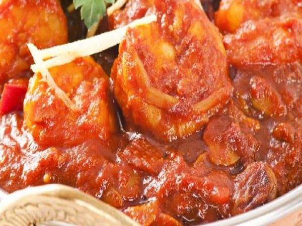 Prawn Vindaloo - Welcome Indian Restaurant