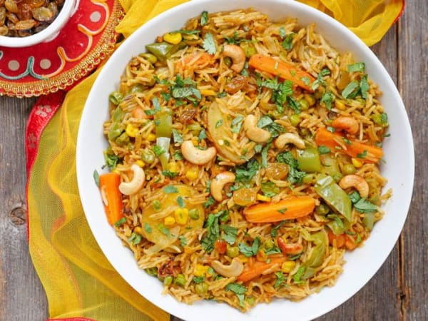Vegetable Briyani  - Welcome Indian Restaurant