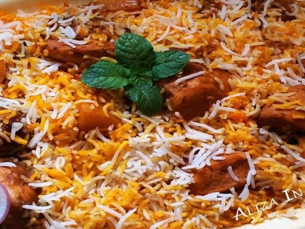 Chicken Briyani - Welcome Indian Restaurant