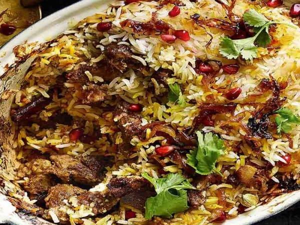 Lamb Briyani  - Welcome Indian Restaurant