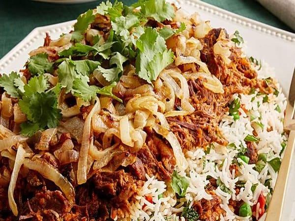 Beef Briyani  - Welcome Indian Restaurant