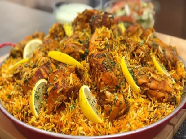Chicken Tikka Biryani - Welcome Indian Restaurant