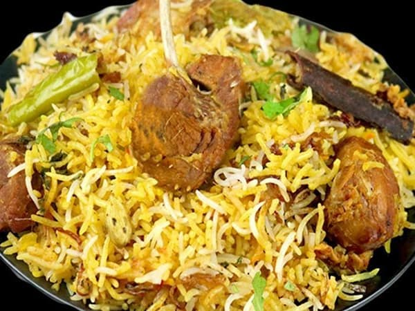 Goat Briyani  - Welcome Indian Restaurant