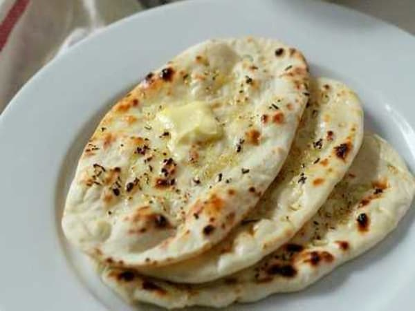 Garlic Butter Naan - Welcome Indian Restaurant