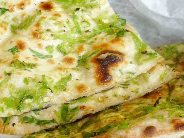 Cheese & Chilli Naan - Welcome Indian Restaurant