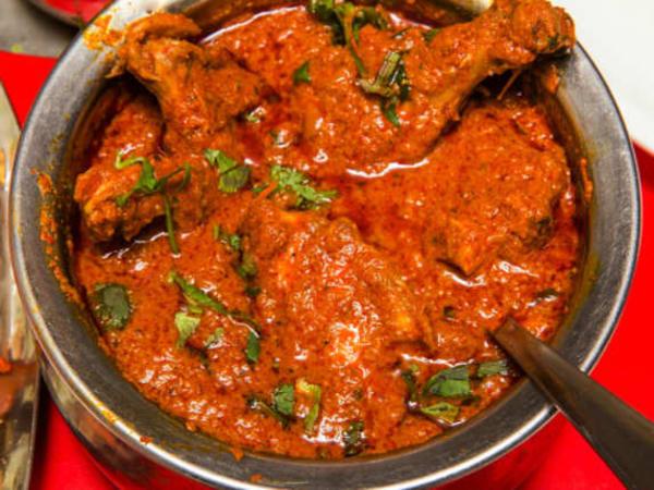 Chicken Vindaloo - Welcome Indian Restaurant