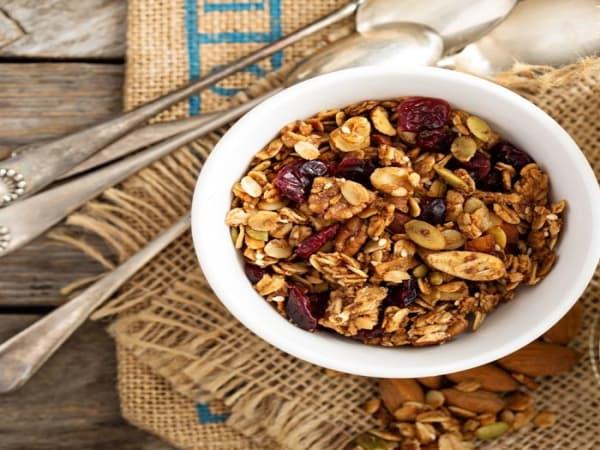 Granola Fruit Bowl (V) - Cafe B2B