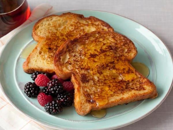 Banana French Toast - Cafe B2B