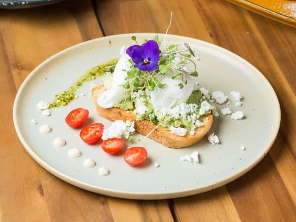 Smashed Avocado - Cafe B2B