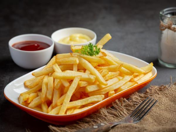 Crunchy Fries - Luna's Food & Wine Bar