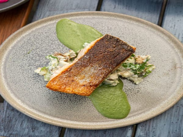 Australian Salmon - Luna's Food & Wine Bar