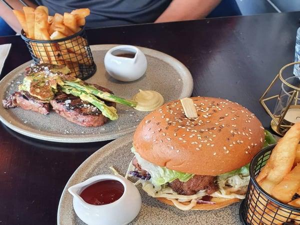 Chicken Burger  - Luna's Food & Wine Bar