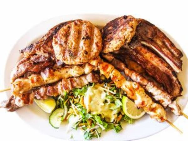 Mixed Kebab (Meat Platter)  - George's On The Avenue