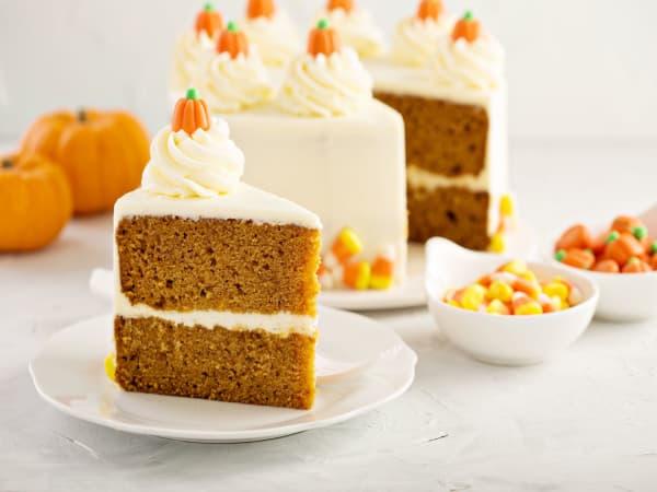 Pumpkin Cake - George's On The Avenue