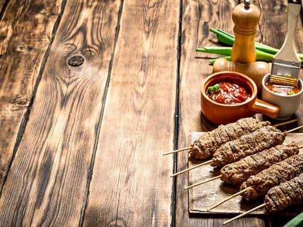 Seekh Kebab (3 Piece) - Sargun Indian Tandoori