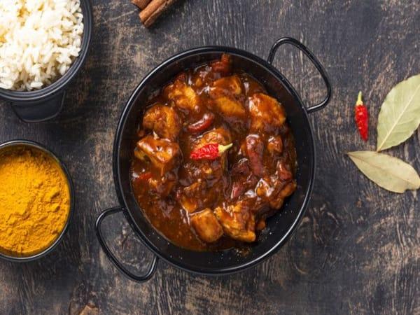 Chicken Sabzi Ghosht - Sargun Indian Tandoori