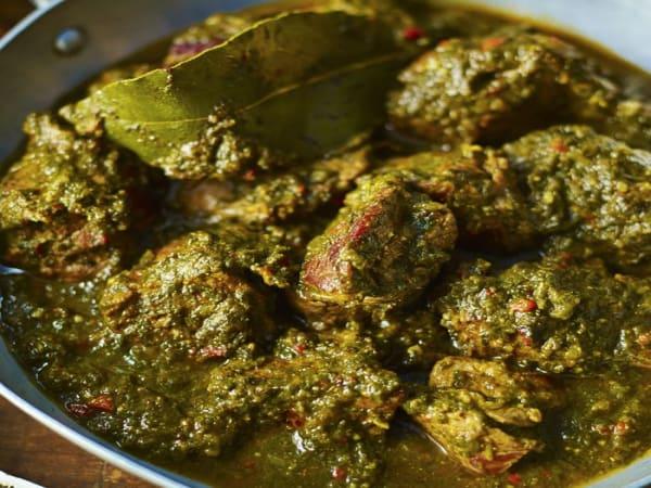 Lamb Saag Gosht - Sargun Indian Tandoori