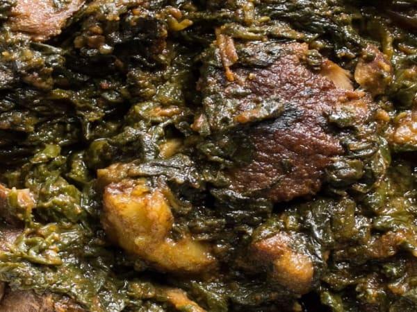 Beef Saag Gosht - Sargun Indian Tandoori