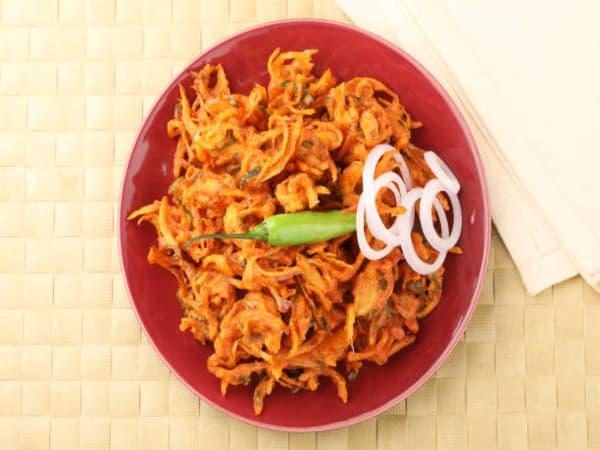 Mix Bhajia   Veg Dish   Masala Bar And Grill