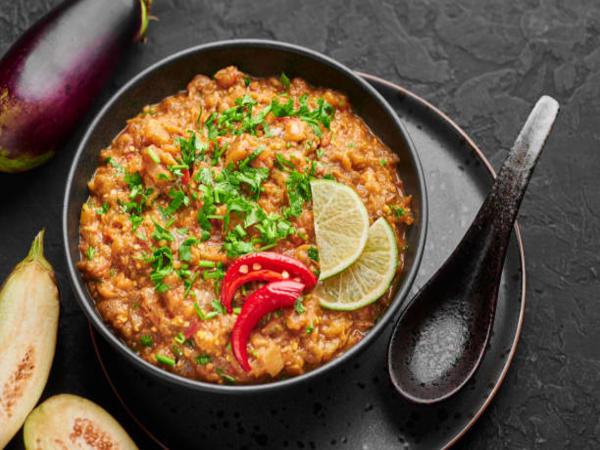 Baingan Bharta | Blend of Curries | Masala Bar And Grill