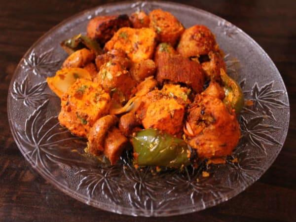Mushroom Tikka Masala | Blend of Curries | Masala Bar And Grill