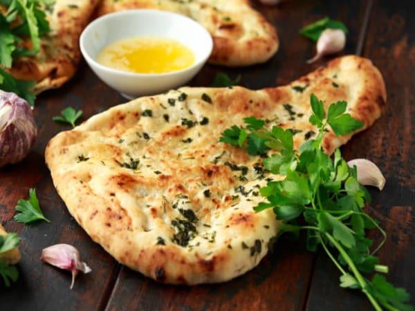 Garlic Naan - Masala Bar And Grill