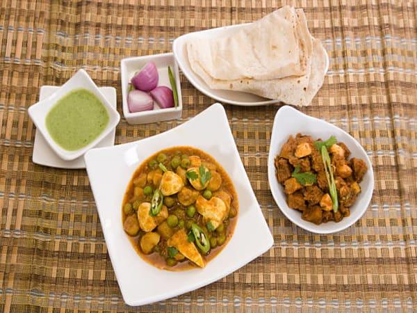 Mushroom Masala - Welcome Indian Restaurant