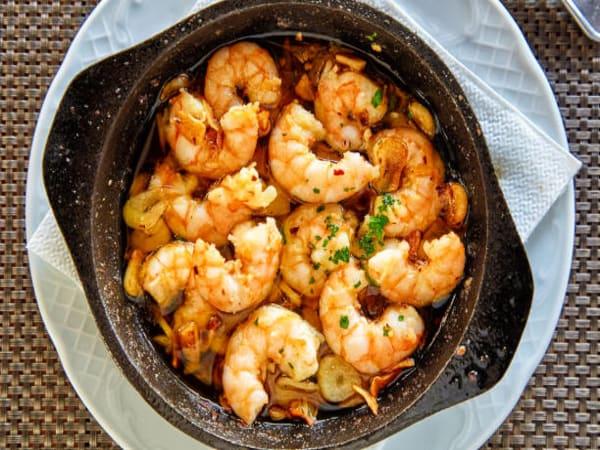Garlic Prawns - Welcome Indian Restaurant