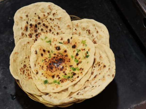 Garlic Butter Roti - Welcome Indian Restaurant