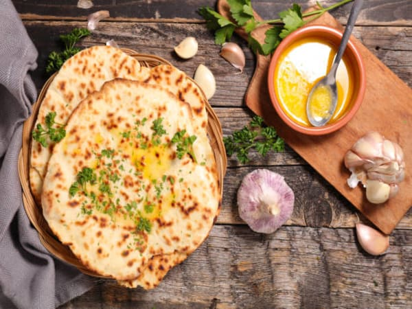 Special Butter Naan - Welcome Indian Restaurant
