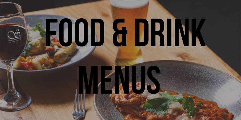 Food & Drinks Menu
