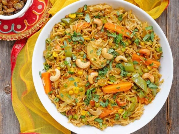 Vegetable Fried Rice in Lynbrook