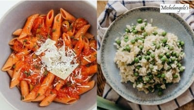 Different Types Of Must-try Pasta And Risotto