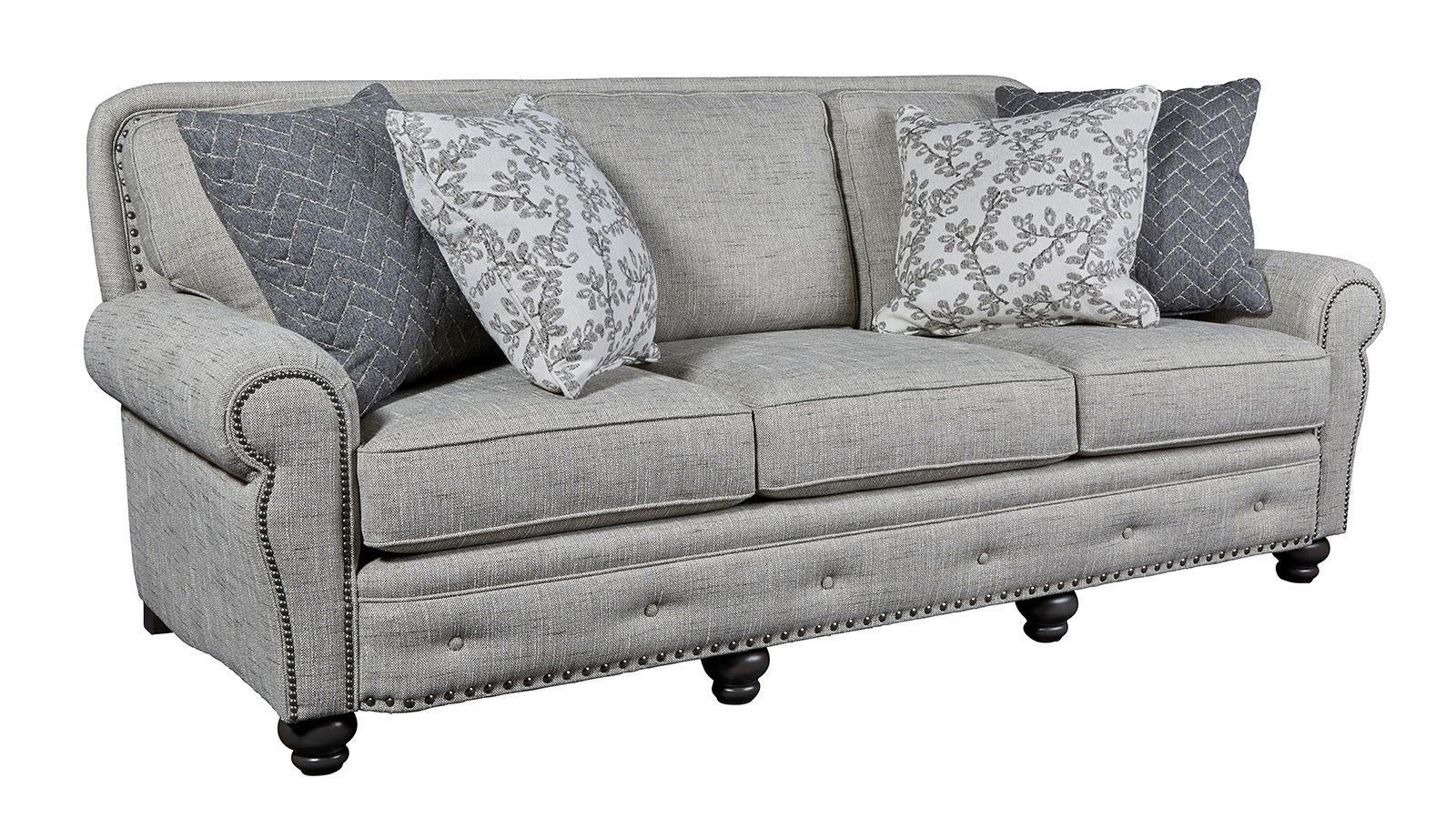 Superior Grey Sofa, , hi-res