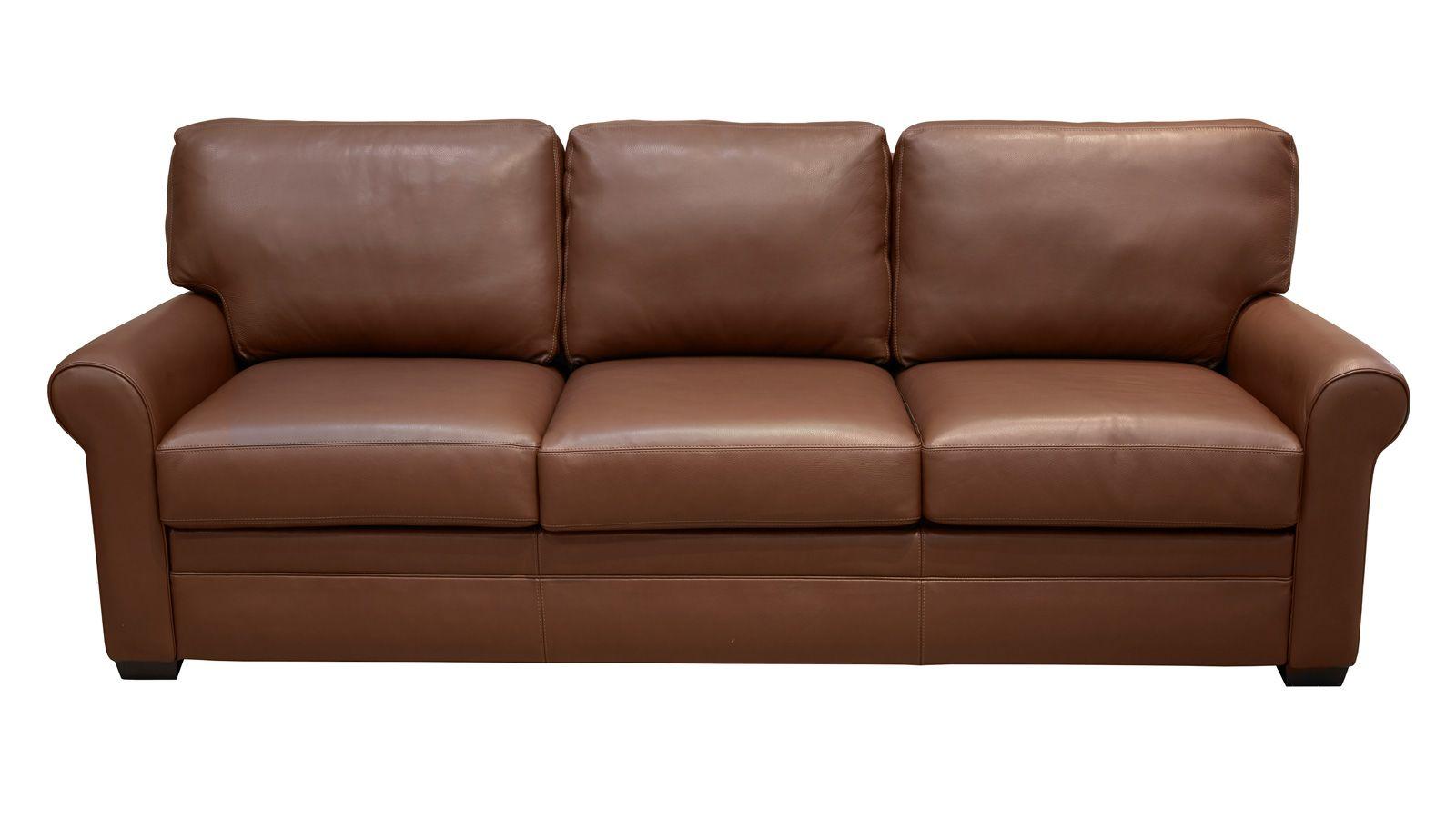 Gina Bison Tobacco King Sleeper Sofa, , hi-res