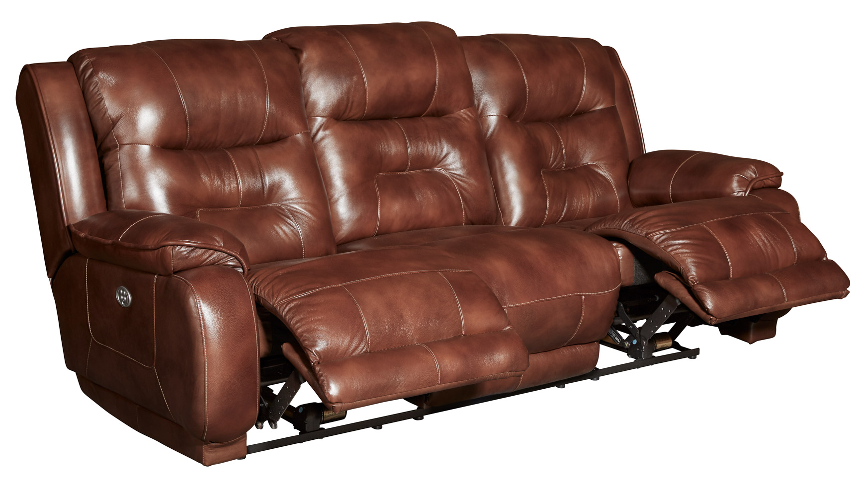 Crescent Power Reclining Sofa W/Power Headrest, , hi-res