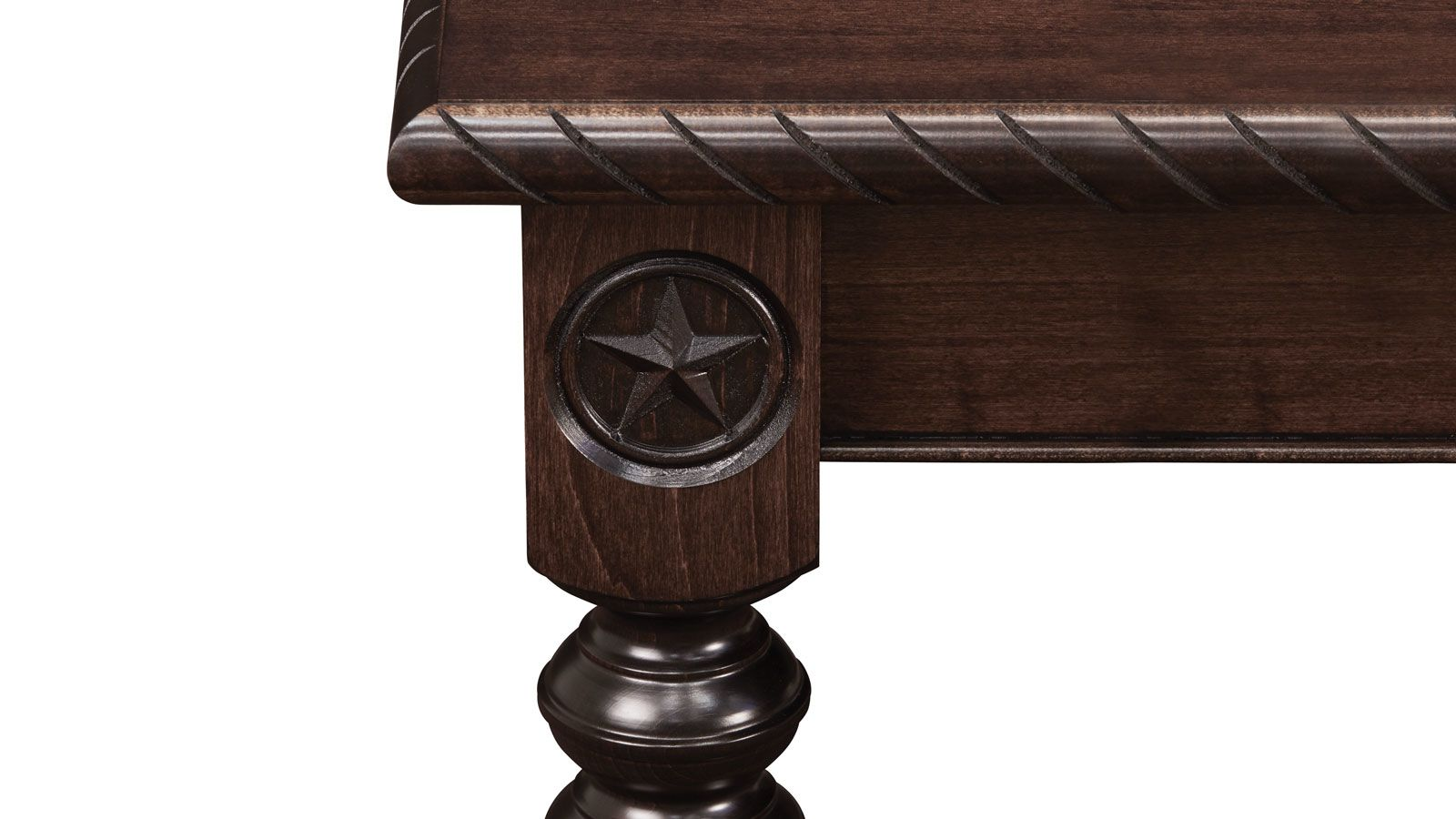 Texas Star Brown Maple Cocktail & End Table Set, , hi-res