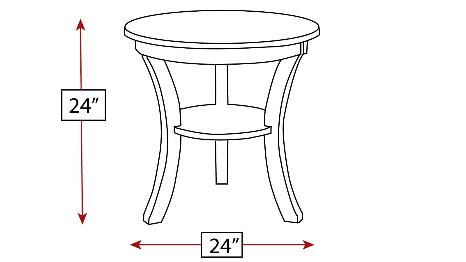 Lindale End Table, , hi-res