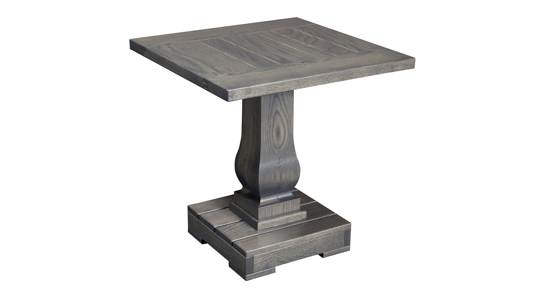 Antique Gray End Table, , hi-res