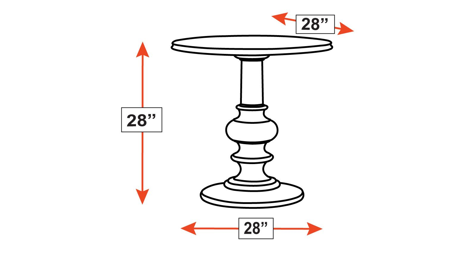 Stickley Classic Finger Lakes Avon Pedestal Table, , hi-res