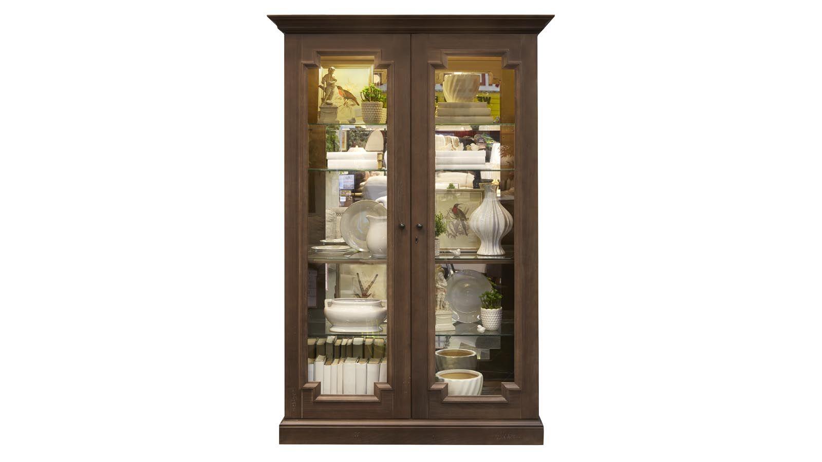 Desmond Auburn Curio Cabinet, , large