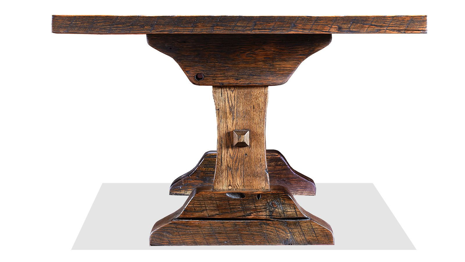 "The Lexington 96"" Reclaimed Oak Dining Table, , hi-res"