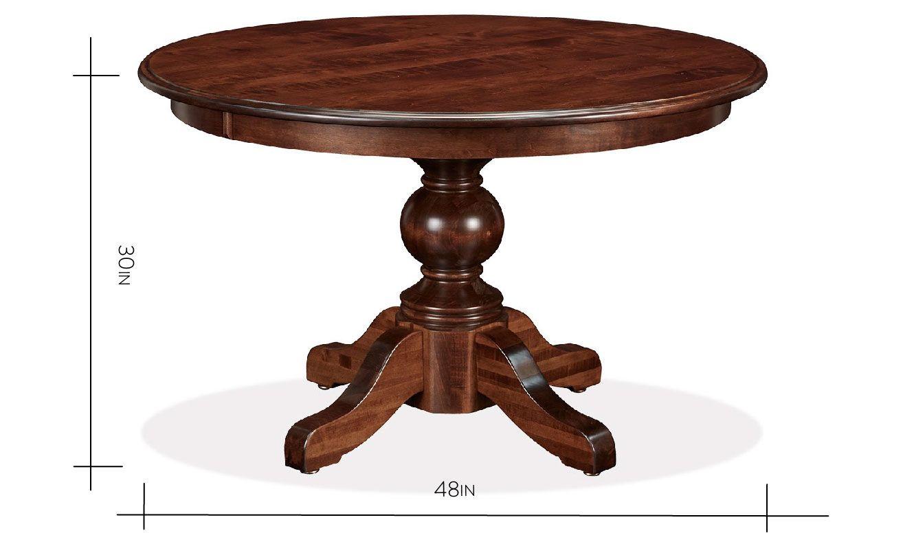 "Baytown 48"" Round Table, , hi-res"