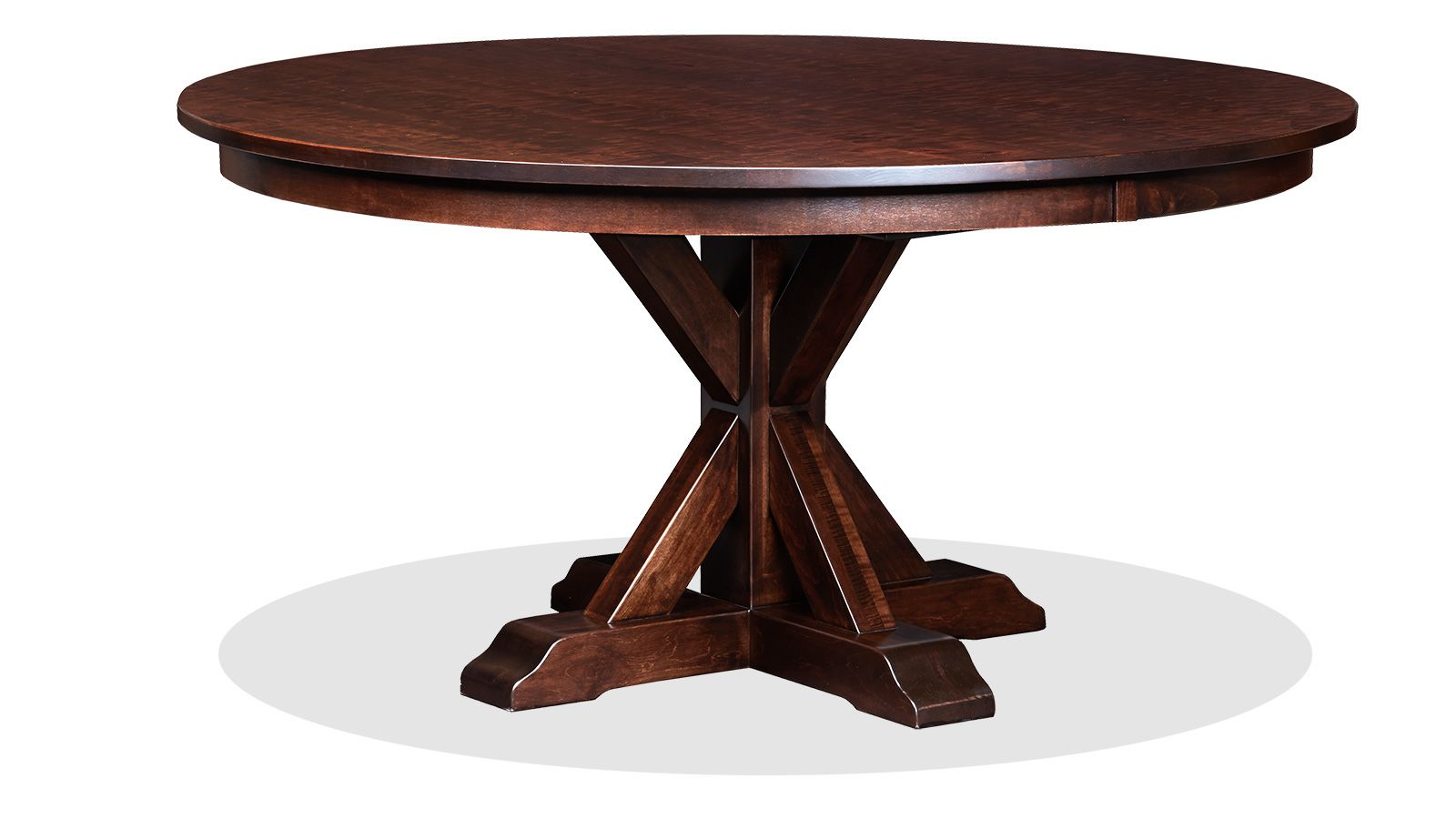"""Henderson 60"""" Hand Planed Dining Table"""