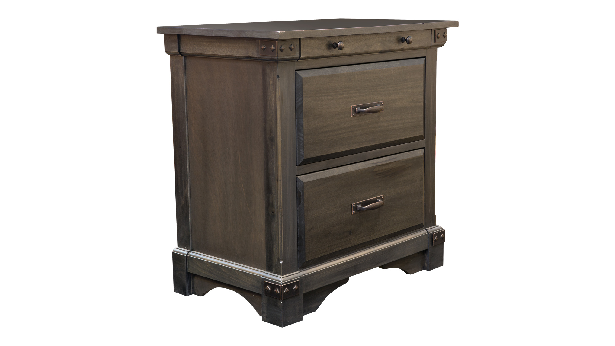 Laramie 3-Drawer Nightstand, , hi-res
