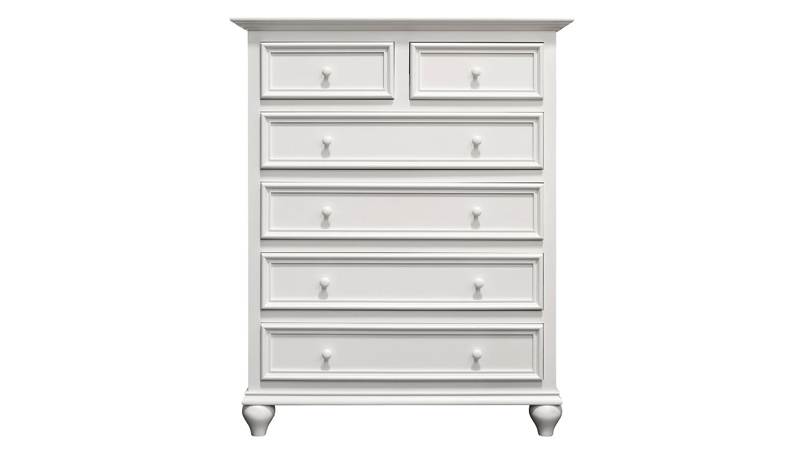 Hedwigs Hill Solid Maple White Chest, , hi-res