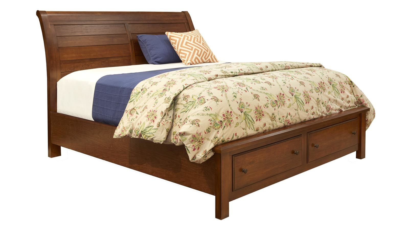 Rancho Viejo King Storage Bed